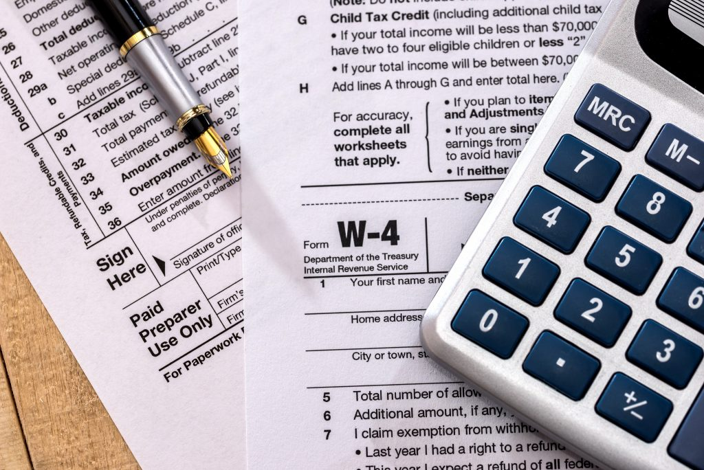 small business tax withholding calculator
